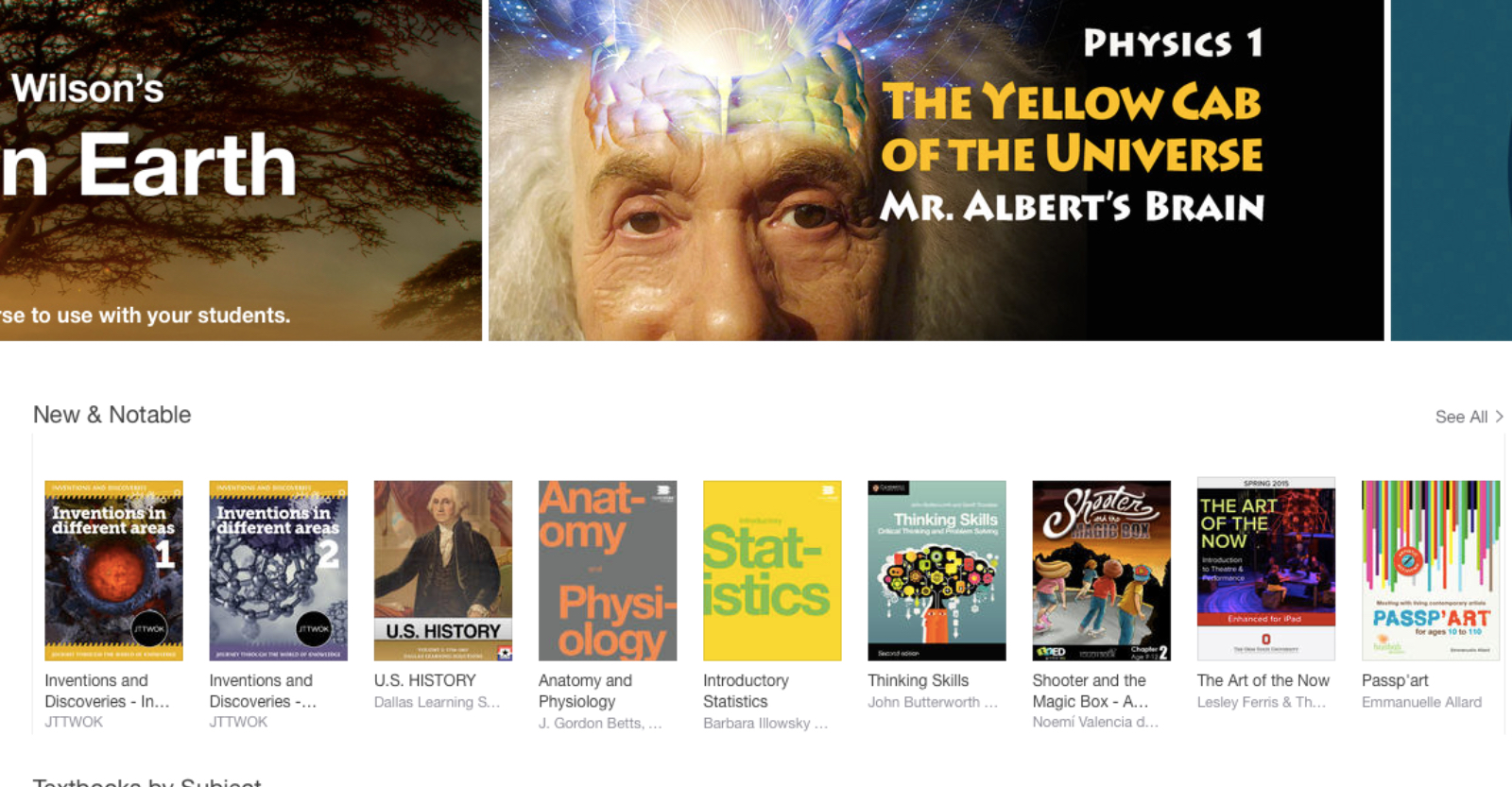 "Featured by iTunes Store USA - ""New and Notable"""